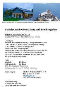 Fahr Berchtesgarten