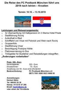 Kroatien Reise 2019